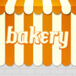 Stock Photo: Bakery Awning