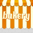 Bakery Awning — Stock Photo