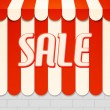 Stock Photo: Sale Awning