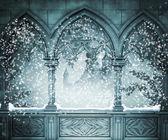 Castle Background — Stock Photo