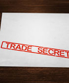 Trade Secret Document — Foto Stock