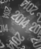 灰色の 2014 年のイメージ — ストック写真