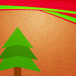 Stock Photo: Christmas Tree Vintage Backdrop