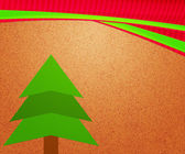 Christmas Tree Vintage Backdrop — Foto de Stock