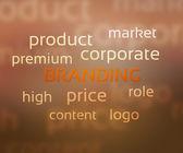 Branding — Foto de Stock