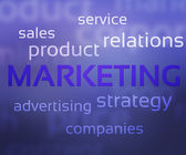 Marketing — Stock Photo