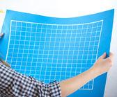 Blank Blueprint — Stock Photo