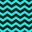 Stock Photo: Teal Chevron Texture
