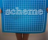 Scheme — Stock Photo
