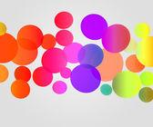 Violet Color Balls Background — Stock Photo