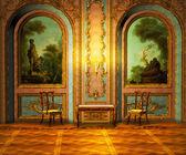 Castle Room — Stock Photo