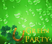 St Patricks Day Background — Stock Photo