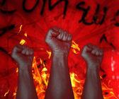 Protest — Foto Stock