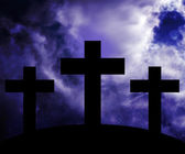 Golgotha Easter Image — Stock Photo