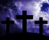 Golgotha Easter Image — Stock Photo