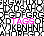 Tags in Text — Stock Photo