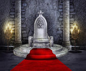 Throne room — Stock Photo