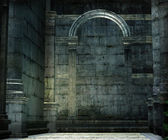Medieval chamber — Stock Photo