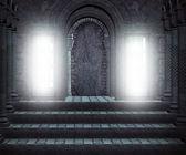 Gotiska hall — Stockfoto
