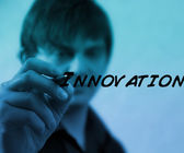 Writing Innovation — Stock Photo