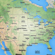 USA Map — Stock Photo #47076911