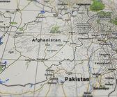 Kaart van pakistan — Stockfoto