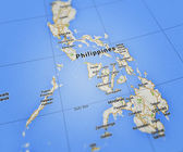 Philippines Map — Stock Photo