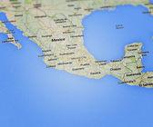 Mexico Map — Stock Photo
