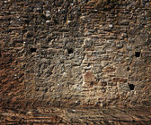 Medieval Stone Wall — Stock Photo