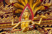 Ornaments of Buddhist Temple — Stock Photo