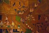 Thai Wall Paintings — Stock Photo