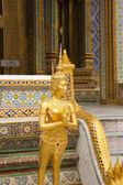 Golden Ornaments Thai Temple — Stockfoto