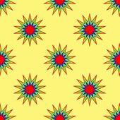 Seamless Abstract Stars Pattern — Stock Vector