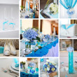 Collage from wedding photos — Stock Photo #14610463