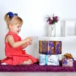 Baby girl — Stock Photo #18743505