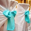 Stock Photo: Wedding decorations in restaurant