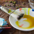 Painting brushes — Stock Photo #27112329