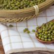 Stock Photo: Mung beans