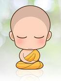 Buddhist Monk — Stock Photo