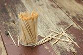 Wooden Toothpicks — Stock Photo