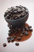 Kávová zrna — Stock fotografie