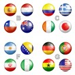 World cup 2014 Brazil groups — Stock Photo