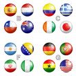 World cup 2014 Brazil groups — Stock Photo #36845253