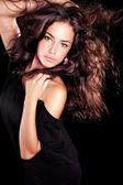 Belleza cabello salvaje — Foto de Stock