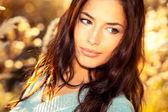 Soliga utomhus porträtt — Stockfoto