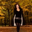 Royalty-Free Stock Photo: Autumn fashion portrait