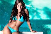 Bikini güzellik — Stok fotoğraf