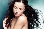美女肖像 — 图库照片