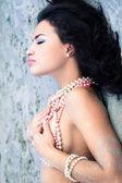 Pearls beauty — Stock Photo