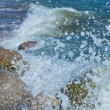 Waves Breaking On The Shore With Sea Foam — Stock Photo #23578579